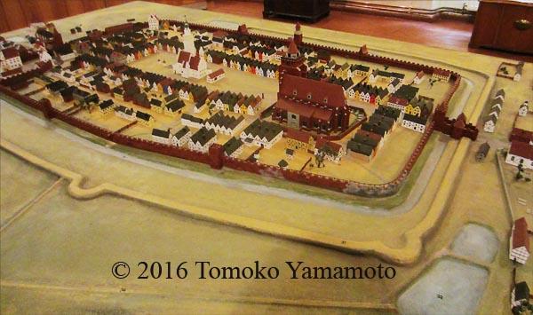 Haynau Town Model in Regional Museum in Chojnow